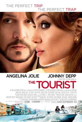 The Tourist - 11 x 17 Movie Poster - Style C