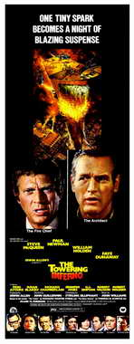 The Towering Inferno - 14 x 36 Movie Poster - Insert Style A