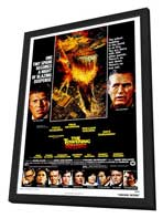 The Towering Inferno - 27 x 40 Movie Poster - Style A - in Deluxe Wood Frame