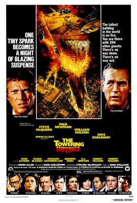 The Towering Inferno - 27 x 40 Movie Poster - Style A