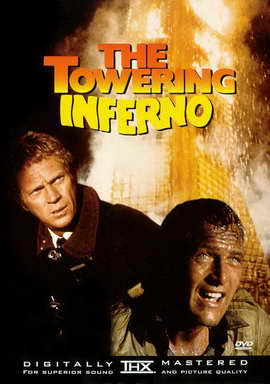 The Towering Inferno - 27 x 40 Movie Poster - Style D