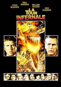 The Towering Inferno - 27 x 40 Movie Poster - French Style B