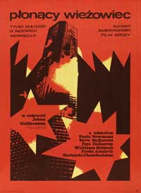 The Towering Inferno - 27 x 40 Movie Poster - Polish Style A
