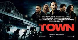 The Town - 11 x 17 Movie Poster - Swiss Style B