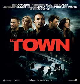 The Town - 30 x 30 Movie Poster - Swiss Style A