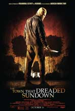 """The Town that Dreaded Sundown"" Movie Poster"