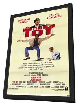 The Toy - 11 x 17 Movie Poster - Style A - in Deluxe Wood Frame