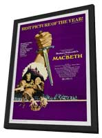 The Tragedy of Macbeth - 11 x 17 Movie Poster - Style A - in Deluxe Wood Frame