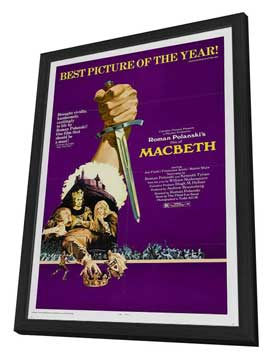 The Tragedy of Macbeth - 27 x 40 Movie Poster - Style A - in Deluxe Wood Frame