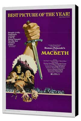 The Tragedy of Macbeth - 27 x 40 Movie Poster - Style A - Museum Wrapped Canvas