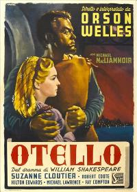 The Tragedy of Othello: The Moor of Venice - 11 x 17 Movie Poster - Italian Style A