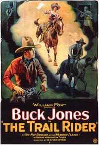 The Trail Rider - 27 x 40 Movie Poster - Style B