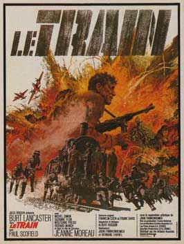 The Train - 11 x 17 Movie Poster - French Style C
