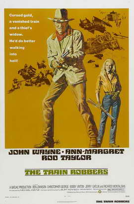 Train Robbers - 11 x 17 Movie Poster - Style A