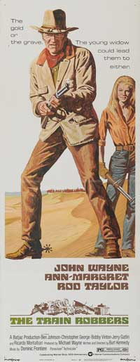 Train Robbers - 14 x 36 Movie Poster - Insert Style A