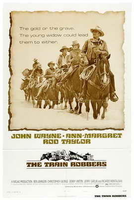 Train Robbers - 11 x 17 Movie Poster - Style B