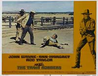 Train Robbers - 11 x 14 Movie Poster - Style F