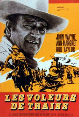 Train Robbers - 11 x 17 Movie Poster - French Style A