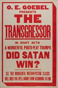 The Transgressor - 11 x 17 Movie Poster - Style A