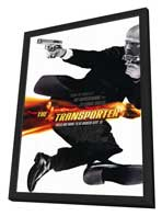 The Transporter - 27 x 40 Movie Poster - Style A - in Deluxe Wood Frame