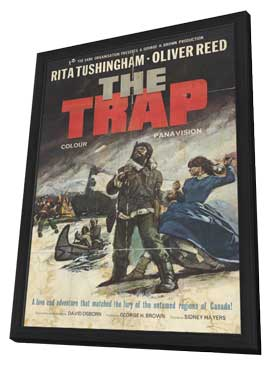 Trap - 11 x 17 Movie Poster - Style A - in Deluxe Wood Frame