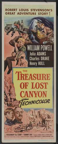 The Treasure of Lost Canyon - 14 x 36 Movie Poster - Insert Style A