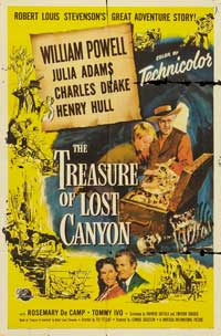 The Treasure of Lost Canyon - 11 x 17 Movie Poster - Style A