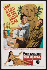 The Treasure of Makuba - 11 x 17 Movie Poster - Style A