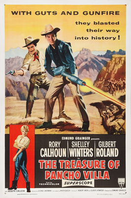 The Treasure of Pancho Villa - 11 x 17 Movie Poster - Style A
