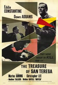 The Treasure of San Teresa - 11 x 17 Movie Poster - Style A