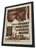 The Treasure of the Sierra Madre - 11 x 17 Movie Poster - Style A - in Deluxe Wood Frame