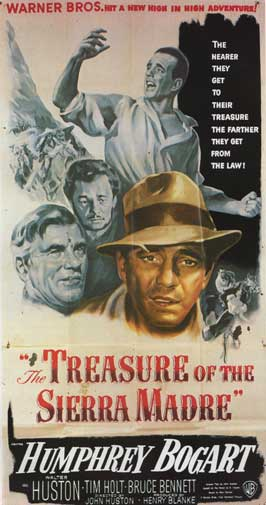 The Treasure of the Sierra Madre - 14 x 36 Movie Poster - Insert Style A