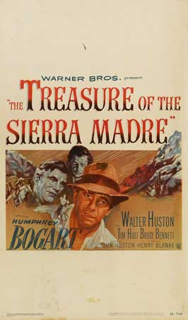The Treasure of the Sierra Madre - 11 x 17 Movie Poster - Style C