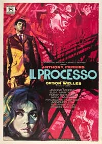 The Trial - 27 x 40 Movie Poster - Italian Style A
