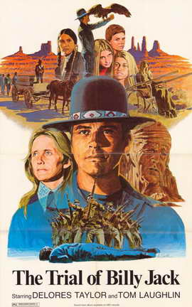 The Trial of Billy Jack - 11 x 17 Movie Poster - Style A