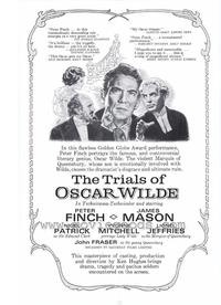 The Trials of Oscar Wilde - 27 x 40 Movie Poster - Style B