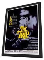 The Trip - 27 x 40 Movie Poster - Style A - in Deluxe Wood Frame