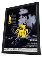 The Trip - 11 x 17 Movie Poster - Style A - in Deluxe Wood Frame