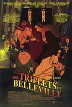 The Triplets of Belleville - 27 x 40 Movie Poster - Style A