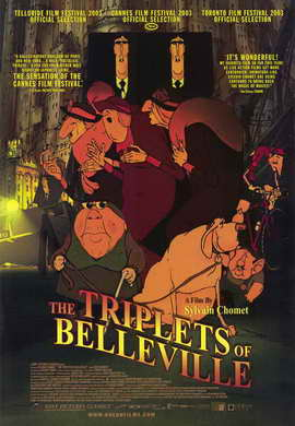 The Triplets of Belleville - 11 x 17 Movie Poster - Style A
