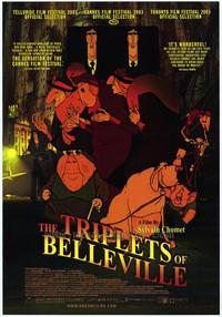 The Triplets of Belleville - 43 x 62 Movie Poster - Bus Shelter Style A