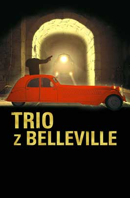 The Triplets of Belleville - 11 x 17 Movie Poster - Polish Style A