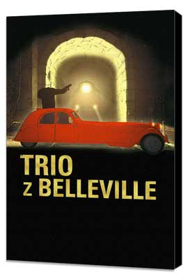 The Triplets of Belleville - 27 x 40 Movie Poster - Polish Style A - Museum Wrapped Canvas