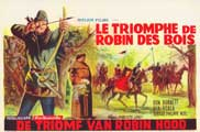 The Triumph of Robin Hood - 11 x 17 Movie Poster - Belgian Style A