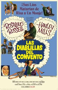 The Trouble with Angels - 11 x 17 Movie Poster - Spanish Style A