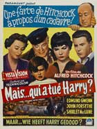 The Trouble with Harry - 11 x 17 Movie Poster - Belgian Style B