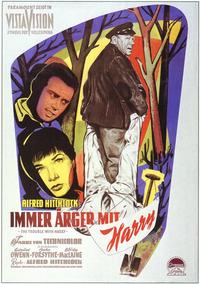 The Trouble with Harry - 11 x 17 Movie Poster - German Style A