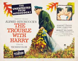 The Trouble with Harry - 22 x 28 Movie Poster - Half Sheet Style A