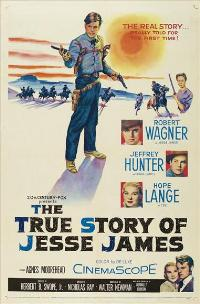 The True Story of Jesse James - 11 x 17 Movie Poster - Style A