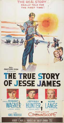 The True Story of Jesse James - 20 x 40 Movie Poster - Style A